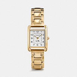 COACH W1318 Page Gold Plated Bracelet Watch GOLD PLATED