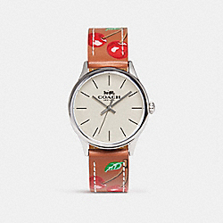 RUBY WATCH - w1546 - TERRACOTTA