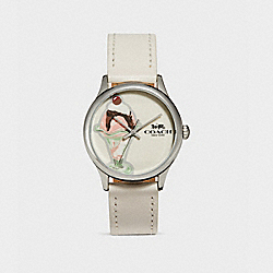 RUBY WATCH - w1546 - CHALK