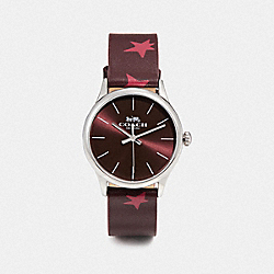 COACH W1546 Ruby Watch, 32mm OXBLOOD