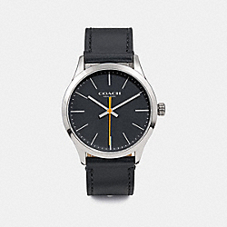 BAXTER WATCH, 39MM - W1582 - HEATHER GREY