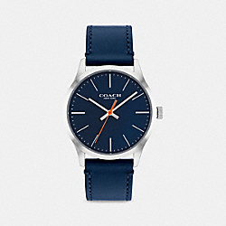 COACH W1582 Baxter Watch, 39mm NAVY
