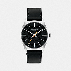 COACH W1584 Baxter Watch, 39mm BLACK