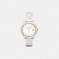 COACH W1595 - PRESTON SPORT WATCH, 36MM WHITE