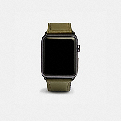 COACH W1600 Apple Watch® Strap, 42mm FATIGUE