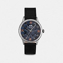 COACH W1607 Ruby Watch, 32mm BLACK
