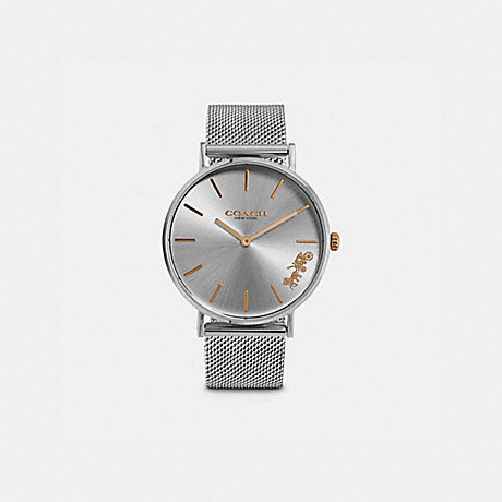 COACH W1612 PERRY WATCH, 36MM STAINLESS STEEL