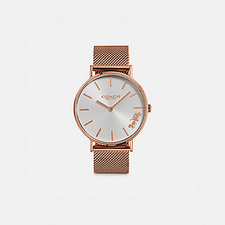 COACH W1613 PERRY WATCH, 36MM ROSE GOLD