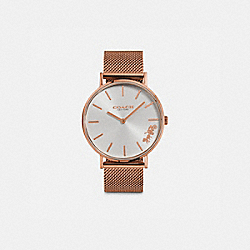 COACH W1613 - PERRY WATCH, 36MM ROSE GOLD