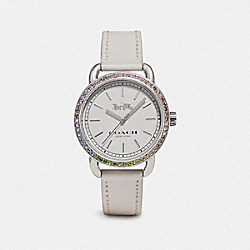 COACH W1617 Lex Watch, 32mm WHITE