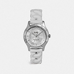 COACH W1618 Maddy Watch, 34mm WHITE