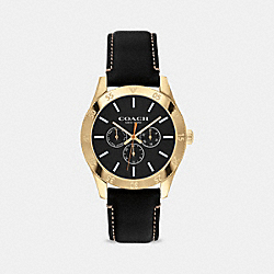 COACH W1624 Casey Watch, 42mm BLACK