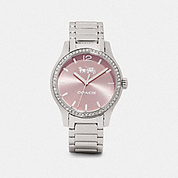 COACH W1625 Maddy Watch, 37mm STAINLESS STEEL