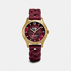 COACH W1631 Maddy Watch, 34mm RHUBARB