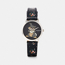 DISNEY X COACH CHELSEA WATCH WITH THUMPER, 32MM - W1666 - BLACK