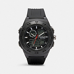 COACH W1705 - C100 WATCH, 45MM BLACK