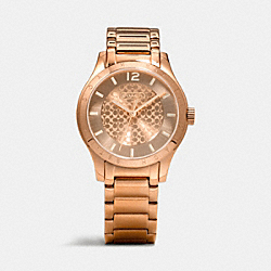 COACH W6007 Maddy Rose Gold Bracelet Watch ROSEGOLD