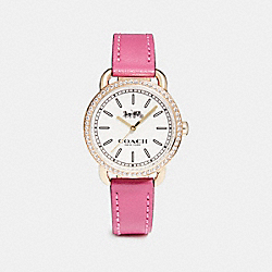 LEX GOLD TONE STRAP WATCH - w6052 - DAHLIA