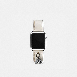 COACH W6133+CHK++WMN Apple Watch® Strap With Charms CHALK