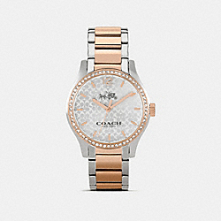 COACH W6183 - MADDY TWO TONE SET BRACELET WATCH TWO TONE