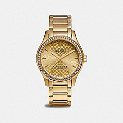 COACH W6184 Maddy Watch GOLD PLATED