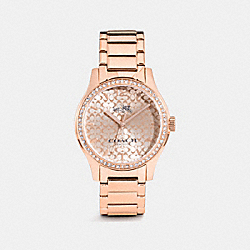 COACH W6214+B7M++WMN Maddy Watch ROSE GOLD