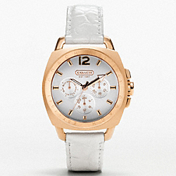 COACH W926 - BOYFRIEND ROSEGOLD STRAP ONE-COLOR