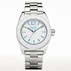 COACH W930 Andee Bracelet Watch WHITE