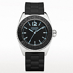 COACH W931 - ANDEE RUBBER STRAP WATCH ONE-COLOR