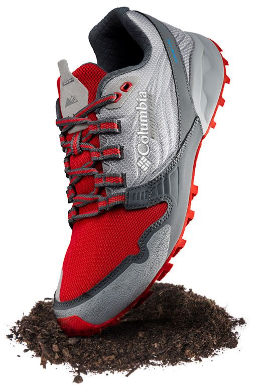 Close-up of an Alpine FTG trail running shoe for men.
