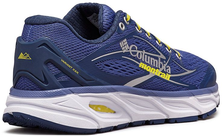 Close-up of a Columbia Montrail X.S.R. trail running shoe. abfab1fdd66