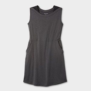 A sleeveless top.