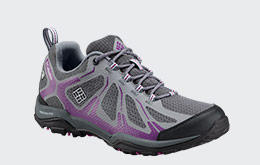 A women's hiking shoe.