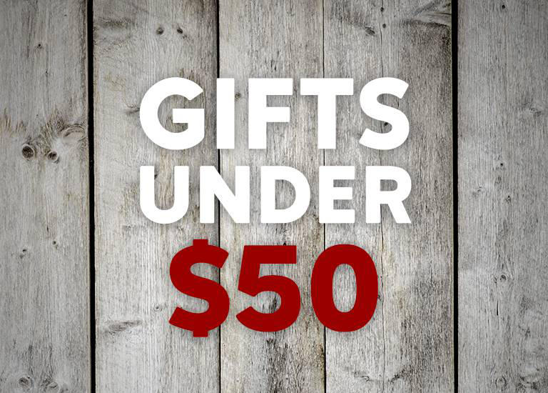 """Gifts under $50"""