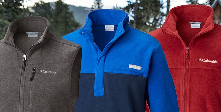 Columbia fleece for men.