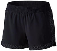 Women's Trail Flash Short in black.