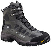Men's Daska Pass III Titanium OutDry Extreme Boot in gray and black.