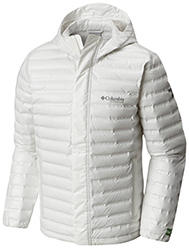 Men's OutDry Ex Eco Down Jacket in white.
