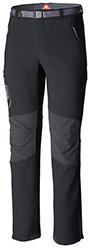 Men's Titan Ridge II Pant in black and gray.