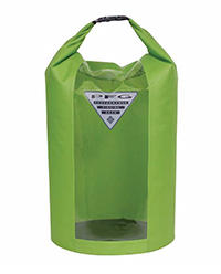 PFG Backcast 35-liter Roll-top Dry Bag in green.