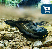 Underwater view of Mark's Daska Pass III Titanium OutDry Extreme Boot as he walks through a stream.