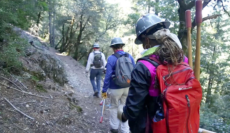 [Video] Faith walks on the Pacific Crest Trail with local volunteers for a day of trail maintenance and cleanup.