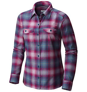 Camisa de franela y manga larga Silver Ridge™ para mujer