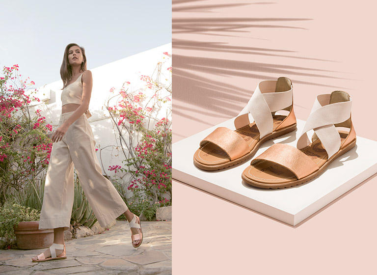 Sandals that are prepared to handle those sunny summer days.