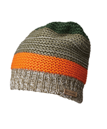 A kids cold-weather beanie.