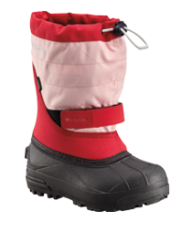 A kids cold-weather boot.