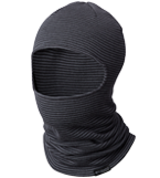 Close-up of a men's winter balaclava.