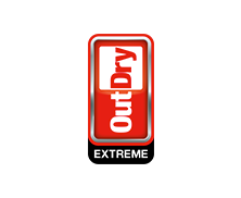 "Logo for ""OutDry Extreme."""