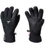 Pair of Titanium gloves in black.