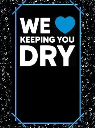We heart keeping you dry.